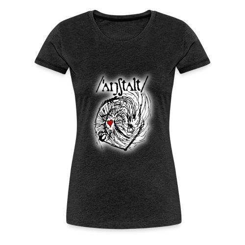 wesen mit herz und logo - Frauen Premium T-Shirt