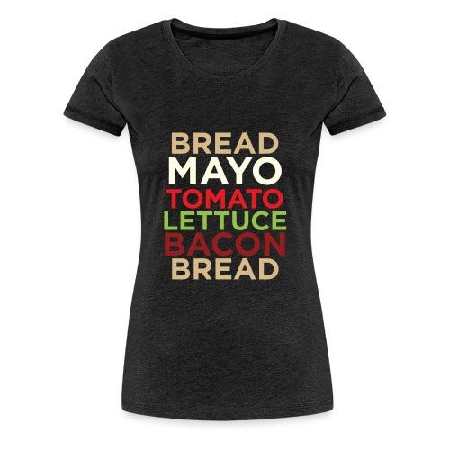 Classic BLT - Women's Premium T-Shirt