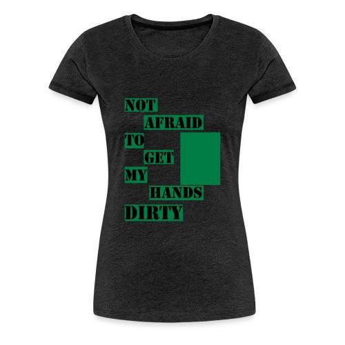 NOT AFRAID - Tanktop - Premium-T-shirt dam