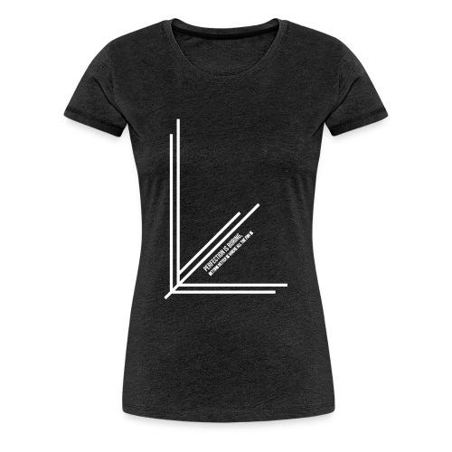 Perfection_Black - Vrouwen Premium T-shirt