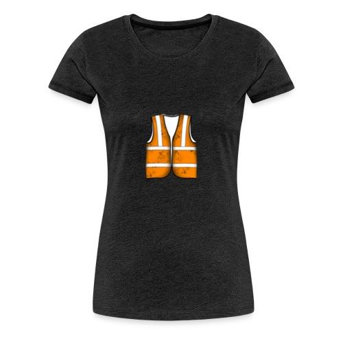 Construction League Vest - Women's Premium T-Shirt