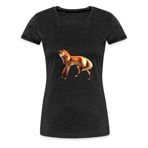 Fox of the night - Women's Premium T-Shirt