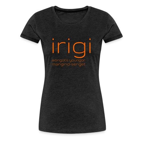 irigi-logo-007 - Women's Premium T-Shirt
