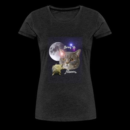 Sieni- muki erilaisille juomaseoksille - Naisten premium t-paita