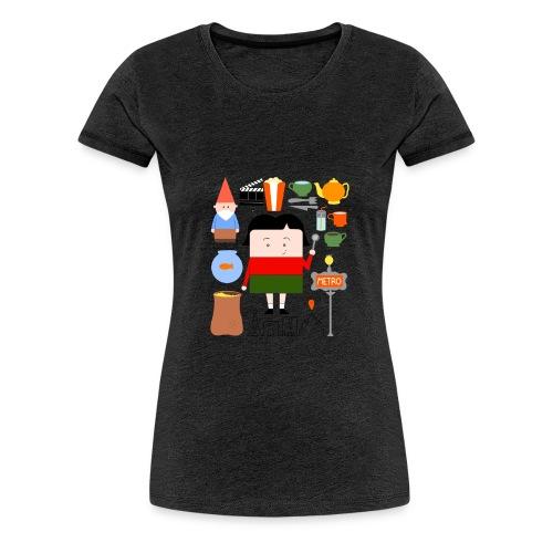 La Petite Amélie completa - women - Camiseta premium mujer