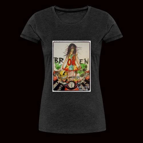 BrOKen - T-shirt Premium Femme