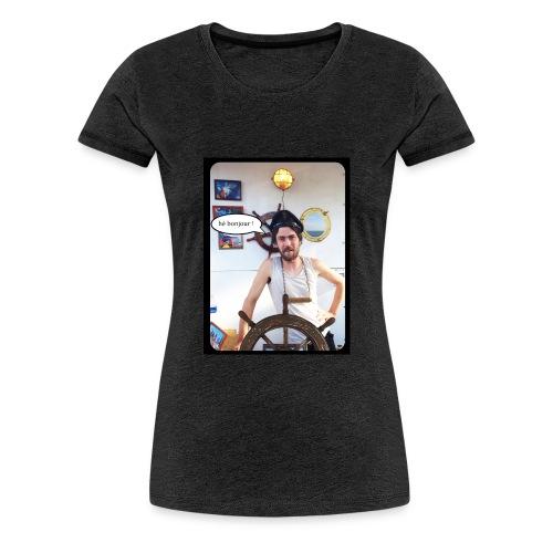 aquaquarium bonjour - T-shirt Premium Femme