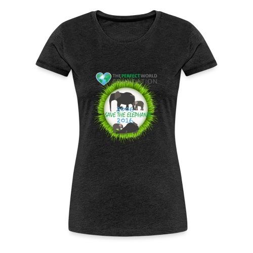 Save the elephant - Erik - Premium-T-shirt dam