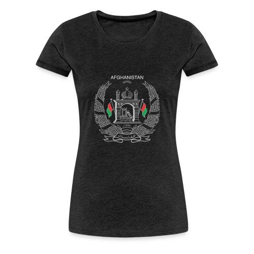 Afghan National Logo - Women's Premium T-Shirt