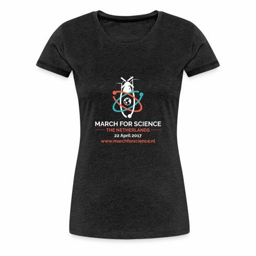 MfS-NL logo dark background - Women's Premium T-Shirt