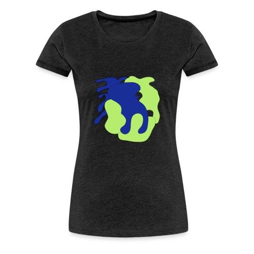 Macchie_di_colore-ai - Maglietta Premium da donna