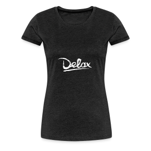 Delax White Logo - Vrouwen Premium T-shirt