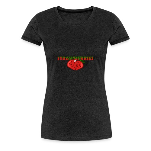 Strawberries - Premium-T-shirt dam