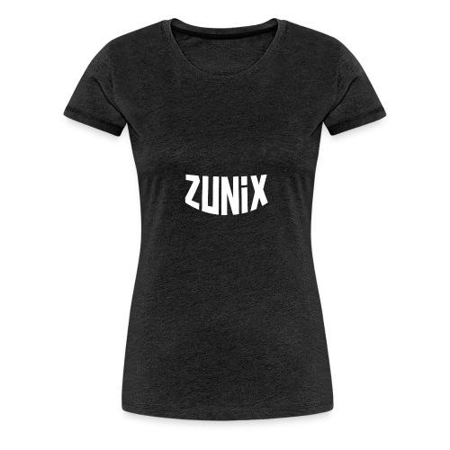 Zunix T-Shirt Vrouw Logo Big - Vrouwen Premium T-shirt