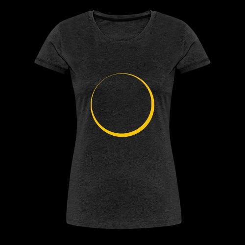 ECLIPSE - Yellow Sun - Maglietta Premium da donna