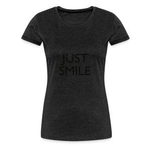 JustSmile Smile - Vrouwen Premium T-shirt