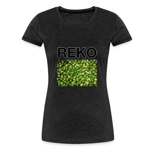 REKOpaita ruusukaali - Naisten premium t-paita
