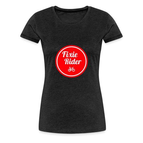 Fixie Rider - T-shirt Premium Femme