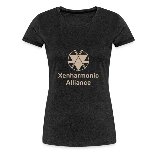 Xenharmonic Aliiance Tan - Women's Premium T-Shirt