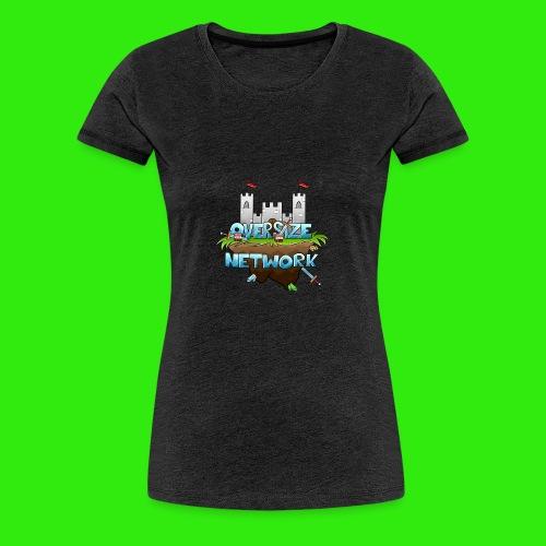 OverSizeNetwork's Logo - Premium-T-shirt dam