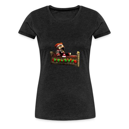 #Ausgeschlafen Weihnachts-Hoddie - Frauen Premium T-Shirt