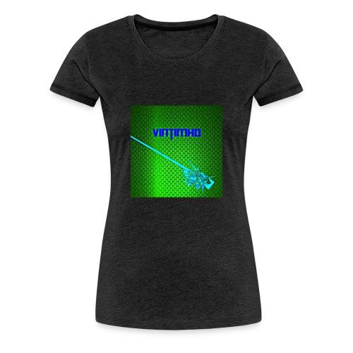 Das Erste Muster - Frauen Premium T-Shirt
