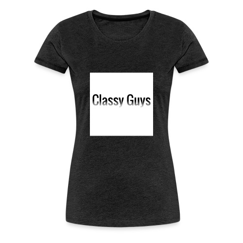 Classy Guys Simple Name - Women's Premium T-Shirt