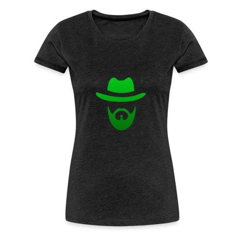 izicron logo vert - T-shirt Premium Femme