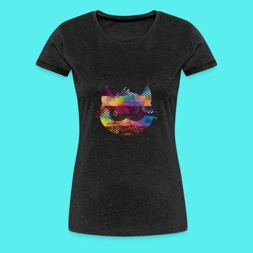 CAT - Camiseta premium mujer