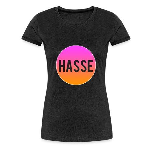 Rund Hasse - Premium-T-shirt dam