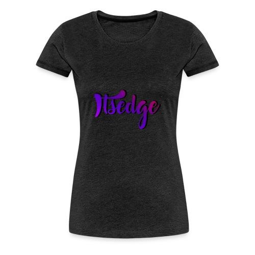 ItsEdge Signature Purple - Women's Premium T-Shirt