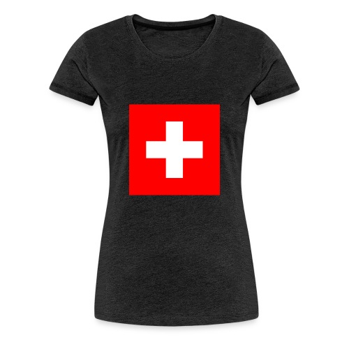 Flag_of_Switzerland - Frauen Premium T-Shirt