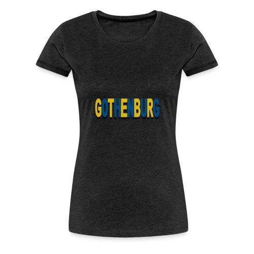 Gothenburg - Premium-T-shirt dam