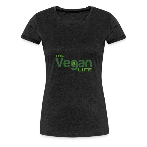 The Vegan Life Logo - Women's Premium T-Shirt