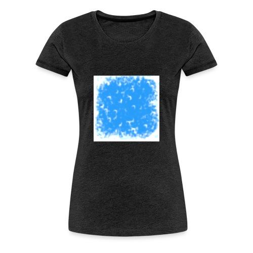 blue-white - Frauen Premium T-Shirt