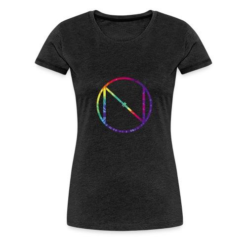 Tye Die Logo - Women's Premium T-Shirt