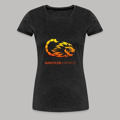 Manticor Textlogo - Frauen Premium T-Shirt