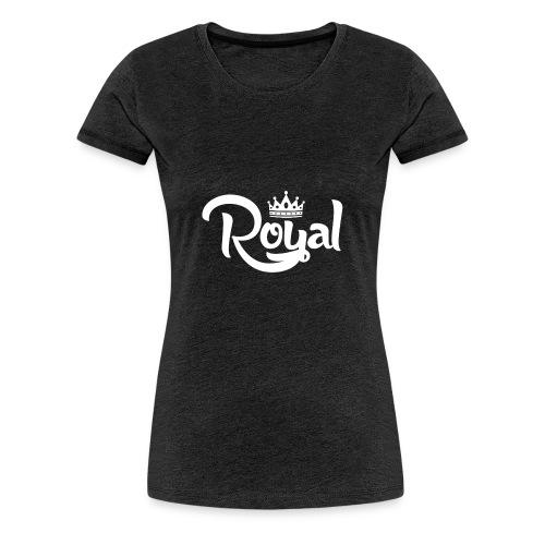 Royal Logo White Edition - Women's Premium T-Shirt