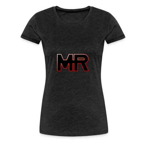 MR logo - Dame premium T-shirt