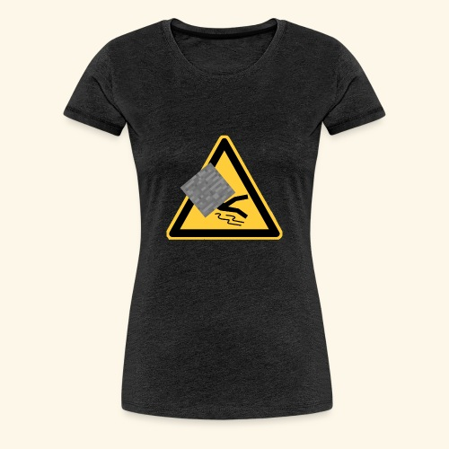 LOGO ohne Namen von ausgerutschterstein.eu server - Frauen Premium T-Shirt