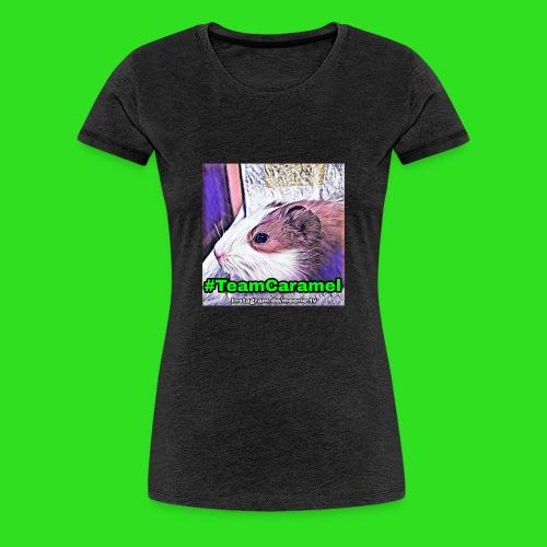 #TeamCaramel - Frauen Premium T-Shirt