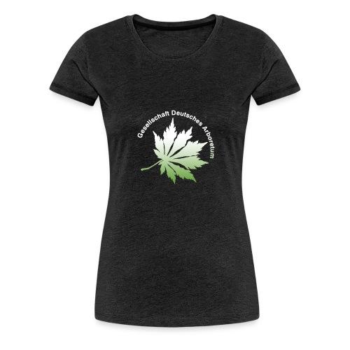 Gesellschaft Deutsches Arboretum - Frauen Premium T-Shirt