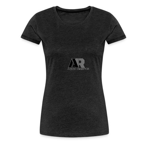 Alpha Records - Frauen Premium T-Shirt