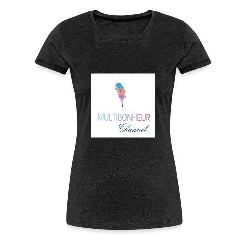Multibonheur CHANNEL - T-shirt Premium Femme