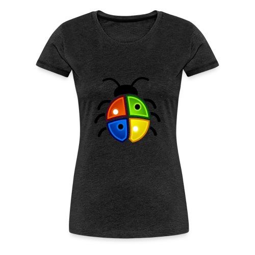 WINDOWS BUG/VIRUS - Frauen Premium T-Shirt