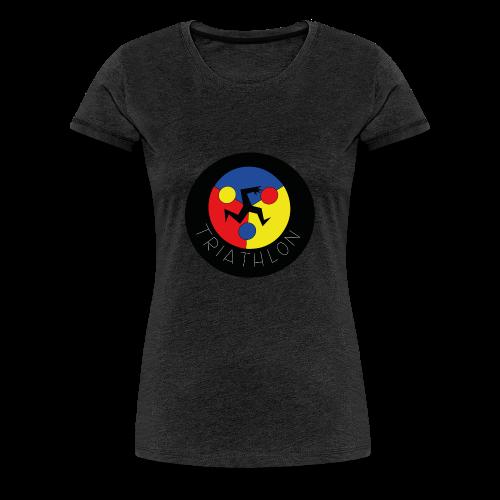 triathlon - Camiseta premium mujer