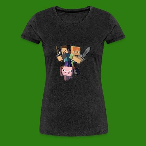 Minecraft - Maglietta Premium da donna