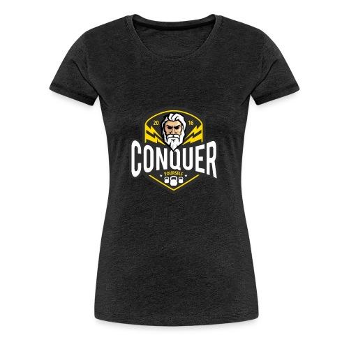 Conquer Yourself Clothing - Frauen Premium T-Shirt