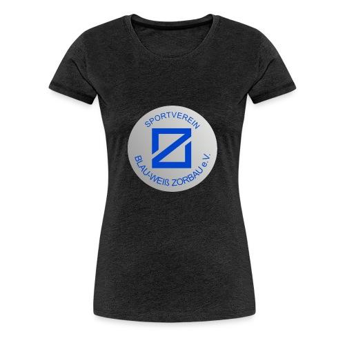 SV Blau-Weiß Zorbau - Frauen Premium T-Shirt