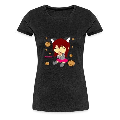 Sherry Blights Cookie Pause - Frauen Premium T-Shirt